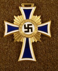 Nazi Gold Mothers Cross