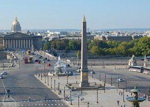 Obelisk in Parijs op de Place de la Concorde (I)