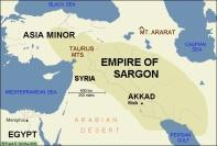 Het Eerste Babylonische Rijk van Sargon de Grote ca 2.300 v Chr