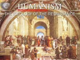 Humanisme de ideologie van de Renaissance